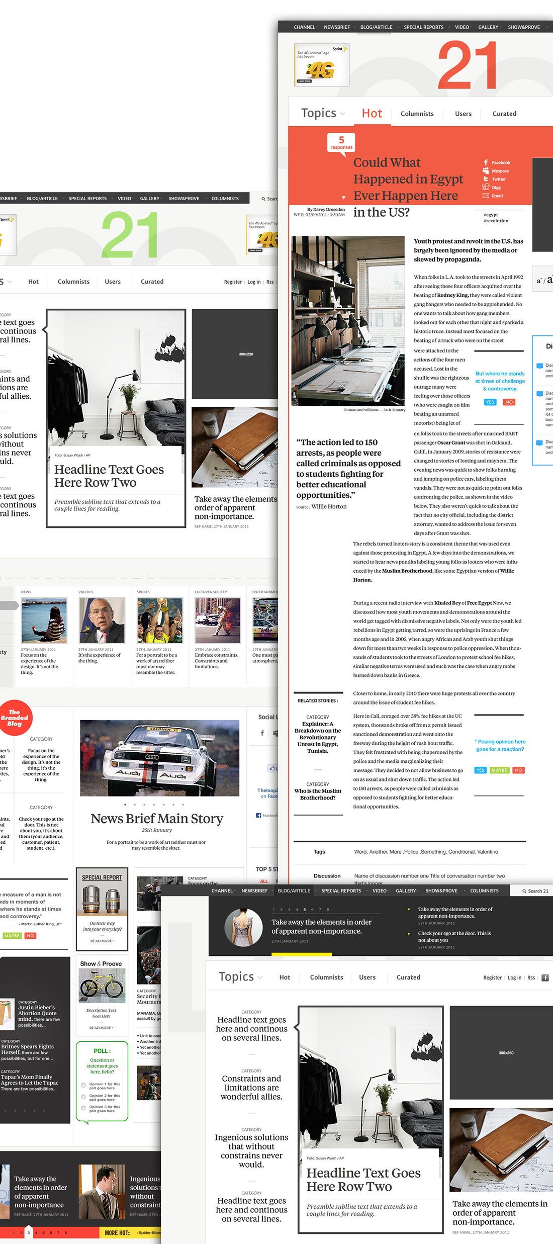 Loop 21 — Editorials