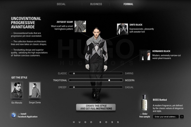 Hugo Boss — 3 Styles